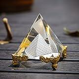 H&D 天然 水晶 ピラミッド パワーストーン サンキャッチャー 装飾品 プレゼント インテリア