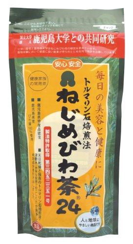 鹿児島産びわ葉100%  ねじめびわ茶24  48g(2gx24包) 半ケース(25袋入り)