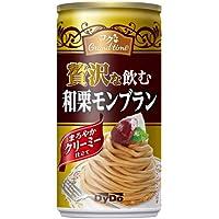 ダイドー 贅沢な飲む和栗モンブラン 185g×30缶