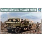 トランペッター 1/35 GAZ-66 軍用トラック2型