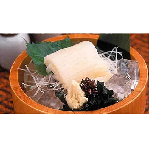 網走水産 152「真いかそうめん 1尾×5袋(タレ・おろししょうが付)」 -クール冷凍-