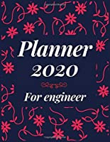 Planner 2020 for engineer: Jan 1, 2020 to Dec 31, 2020 : Weekly & Monthly Planner + Calendar Views (2020 Pretty Simple Planners)