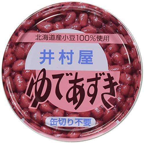 井村屋 ゆであずき EO缶200g