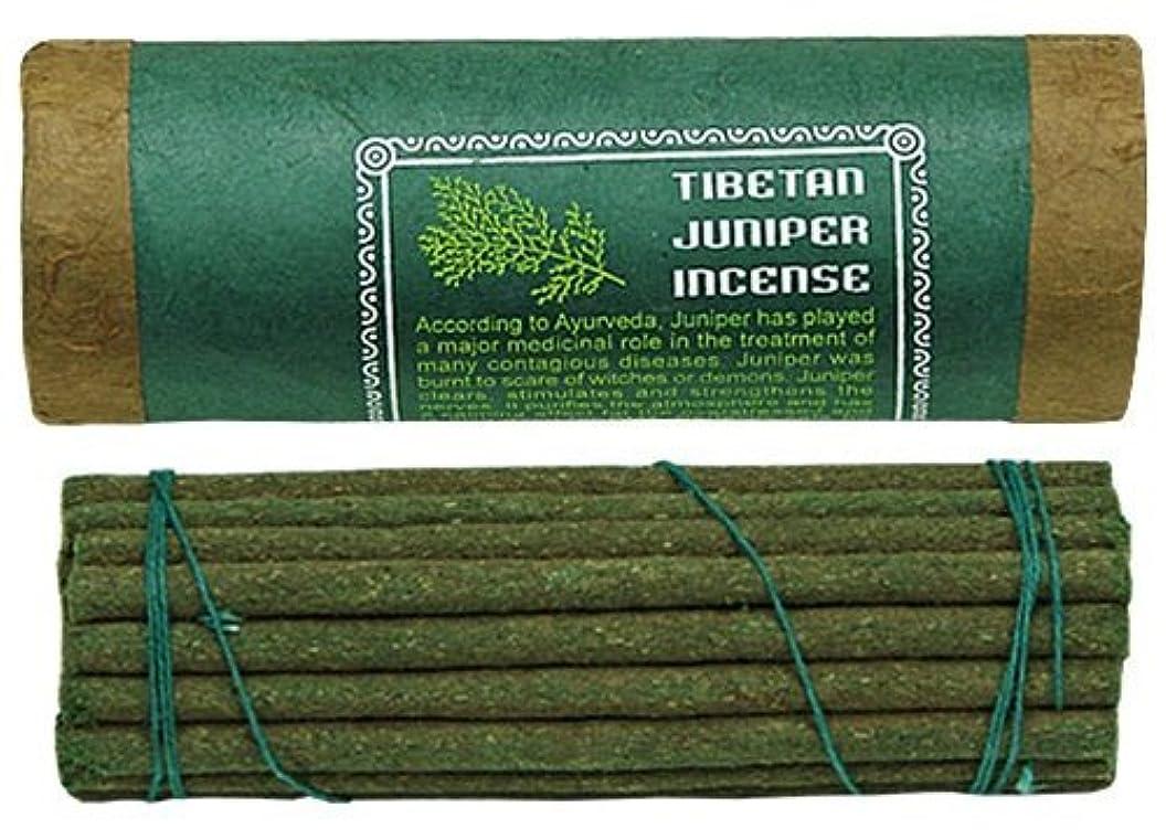 状況怠長方形Tibetan Juniper Incense、4.5