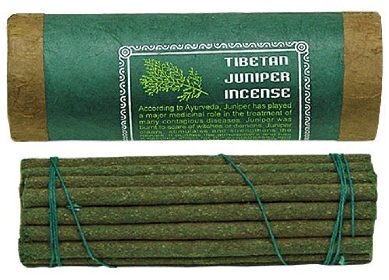 容量透けて見える横にTibetan Juniper Incense、4.5