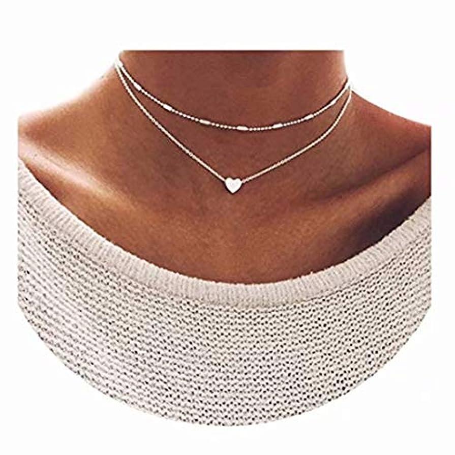 消費者日常的に石七里の香 レイヤードネックレス キュービックジルコニア レイヤードネックレス