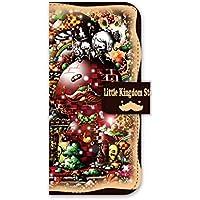 For docomo au softbank iPhone 6 ダイアリーケース 手帳型 スマホケース ジアン jiang オシャレ かわいい イラスト Little Kingdom story 25-ip6-ds0056