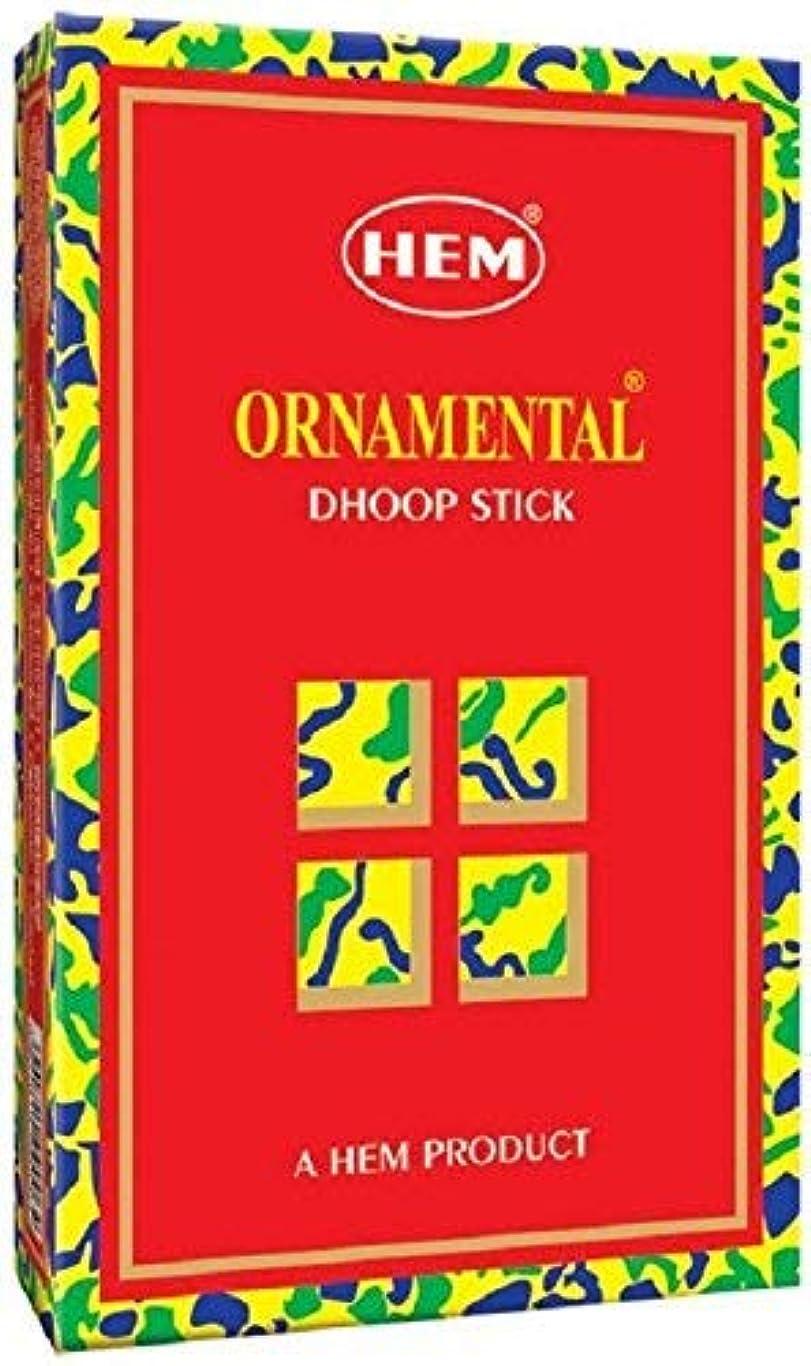 一方、支出アシストHem Ornamental Dhoop - 100 g