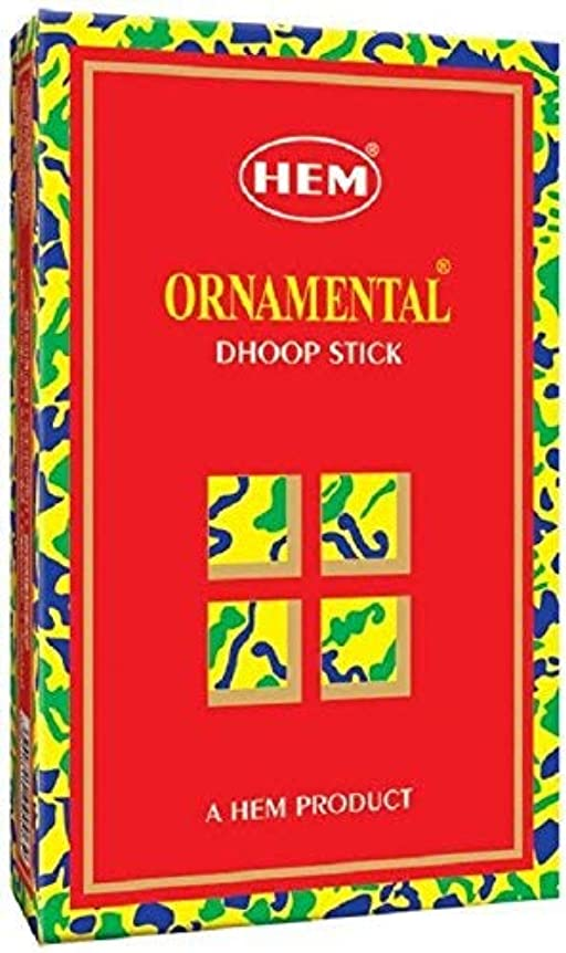 シャーロットブロンテオピエート必要としているHem Ornamental Dhoop - 100 g