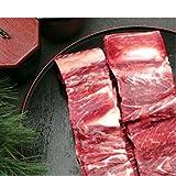 牛焼き用骨付きカルビ1Kg 【冷凍】