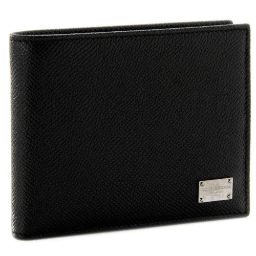 (ドルチェ&ガッバーナ(ドルガバ))/DOLCE&GABBANA 財布 メンズ スタンパドーフィン 2つ折り財布 ブラック BP0457-A1001-80999[並行輸入品]