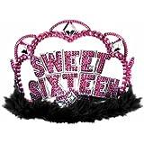 Amscan International Sweet 16 Birthday Tiara