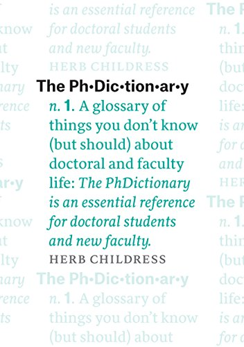 amazon the phdictionary a glossary of things you don t know but