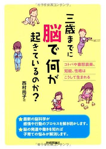 三歳までに脳で何が起きているのか? ~コトバや喜怒哀楽、知能、性格はこうして生まれるの詳細を見る