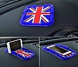BMW MINI ミニ iphone 7 6s 6 専用 ホルダー ノン スリップ マット ユニオンジャック ブルー