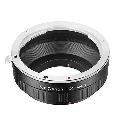 NEEWER レンズアダプターCanon EOS EFレンズ 変換M/43マイクロフォーサーズカメラに対応【並行輸入品】