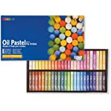 Mungyo Oil Pastels in Assorted Colours - 11 x 70 mm (Pack of 48)