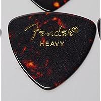 Fender ピック×10枚 トライアングル HEAVY-SHELL