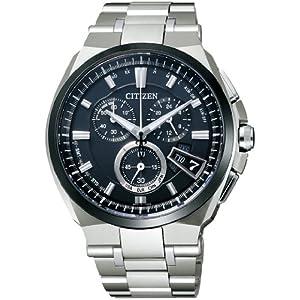 シチズン CITIZEN 腕時計 ATTESA アテッサ Eco-Drive エコ・ドライブ 電波時計 ダイレクトフライト ディスク式 金城武 着用モデル BY0040-51F メンズ