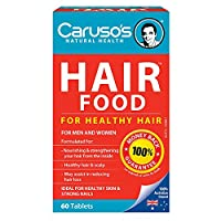 Carusos Natural Health Figaro Hair Food Plus 60 Tablets