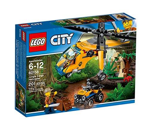 レゴ(LEGO)シティ ジャングル探検ヘリコプター 60158