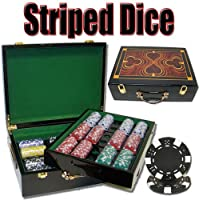 Brybelly Holdings pcs-1403g 500 ct – pre-packaged Striped Dice 11.5 G – Hiグロス