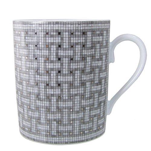 エルメス HERMES モザイク ヴァンキャトル プラチナ マグカップ シングル 300ml 035031P【並行輸入品】