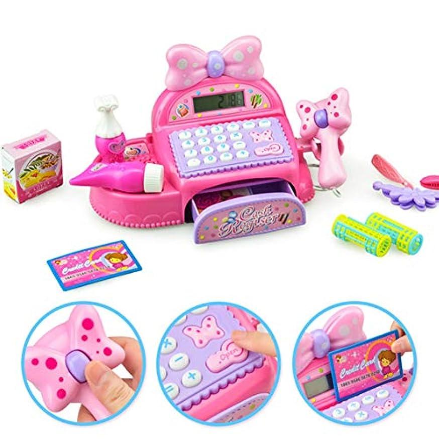 恥ずかしい支給ベースACHICOO ままごと ごっこ遊び お店屋さん 模擬レジ ミニ 登録 ふりプレ 教育 玩具 子供 男の子 女の子