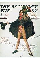 ねこの引出し アメリカ製ノーマン・ロックウェルのクリスマスポストカード TINY December 15、1934