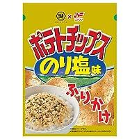 ニチフリ食品 ポテトチップス のり塩味ふりかけ 20g×10袋入×(2ケース)