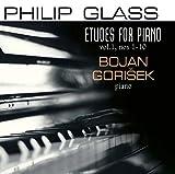 Philip Glass Etudes for Piano 1-10 by BOJAN GORISEK (2015-08-03)