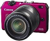 Canon EOS M2 イオス M2 EF-M18-55 IS STM レンズキット レッドの画像