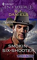 Smokin' Six-Shooter (Larger Print Harlequin Intrigue: Whitehorse Montana the Corbetts)