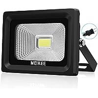 MEIKEE 改良版 led 投光器10w 昼光色 作業灯 6000K 120度発光角度 防水加工 フラッドライト 看板灯 集魚灯 駐車場灯 ナイター 船舶 (2年間保証付き)