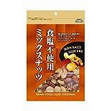 【お徳用 8 セット】 クラウンフーヅ 食塩不使用ミックスナッツ 180g×8セット