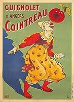 コアントローヴィンテージポスター(アーティスト: Oge )フランスC。1918 12 x 18 Art Print LANT-74164-12x18