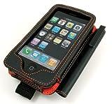 レイ・アウト iPhone ケースレザージャケットWITHタッチペン(ブラック) RT-P1LC2/B
