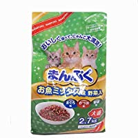 コーナン オリジナル まんぷくドライお魚 ミックス味・野菜入 2.7kg