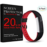 For Fitbit Alta and HR Screen Protector 6 Pack , Hotodeal Full HD Clear Coverage Invisible Clear Film for Fitbit Alta / Fitbit alta HR