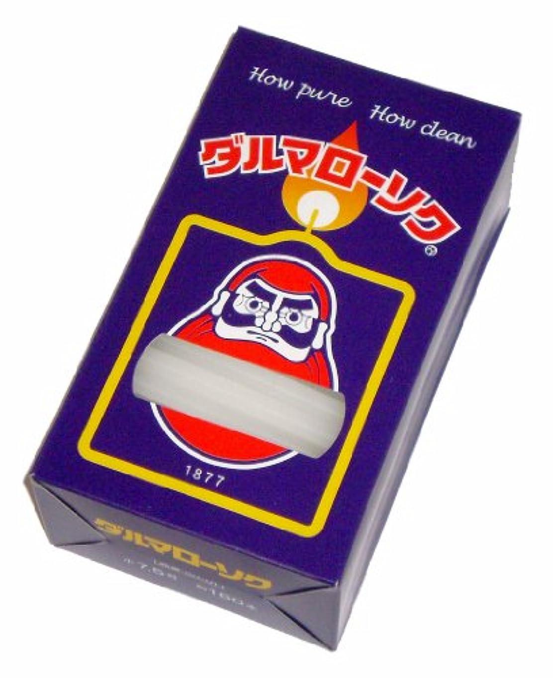 蚊墓文芸東海製蝋のろうそく ダルマ 小7.5号/160本入450g
