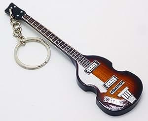 [Musical Story] ミニチュア ギター キーリング ポール・マッカートニー500-1 風