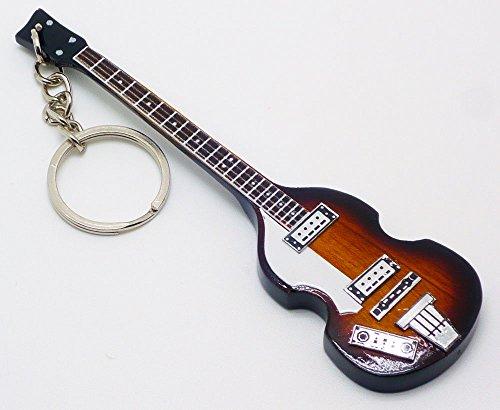 [해외][Musical Story] 미니 기타 열쇠 고리 폴 매카트니 500-1 바람/[Musical Story] miniature guitar key ring Paul McCartney 500-1 wind