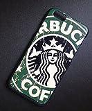 【並行輸入品】iPhone6 ケース スターバックス海外限定品 STARBUCKS ブラックフレーム (グリーン)
