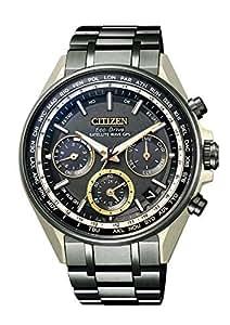 [シチズン] 腕時計 アテッサ エコ・ドライブ 電波時計 ペアモデル CC4004-66E メンズ ブラック