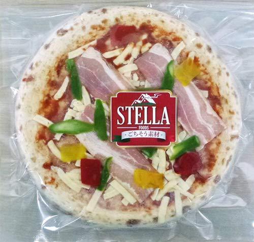 イタリアン無添加冷凍ピザお試し5枚セット(パンチェッタ&野菜、ジェノペーゼ、クワトロフルマッジ、サルシッチャ、マルゲリータ)