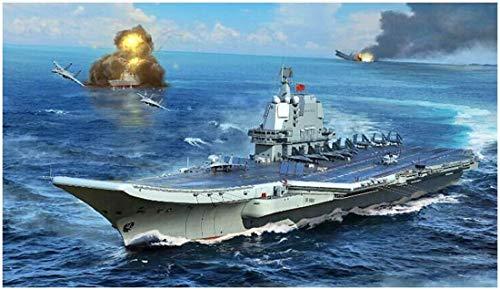 トランペッター 1/700 中国人民解放軍 002型 航空母艦 プラモデル 06725