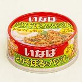 いなば とりそぼろとバジル タイガパオ 75g缶(小)