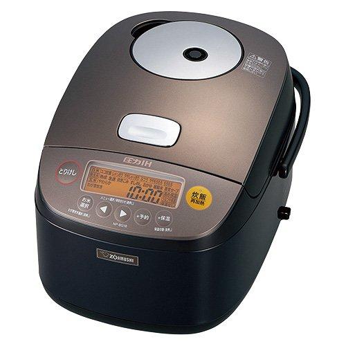 象印 圧力IH炊飯器 一升 ダークブラウン NP-BG18-TD