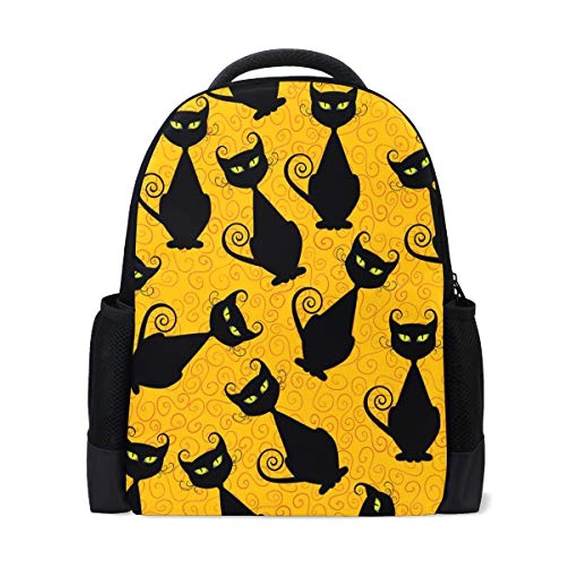 利用可能対角線剃るリュック レディース おしゃれ 軽量 a4 多機能 リュックサック メンズ バタフライ 猫柄 黒猫 大容量 通学 通勤 旅行 デイパック プレゼント対応