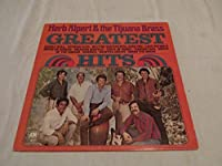 Herb Alpert & The Tijuana Brass Greatest Hits Album Vinyl
